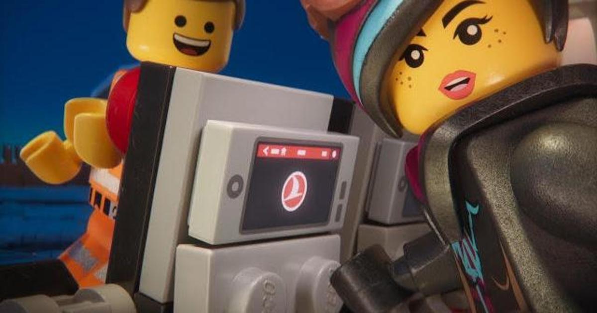 Turkish Airlines выпустило safety-видео c героями «Лего. Фильм 2».