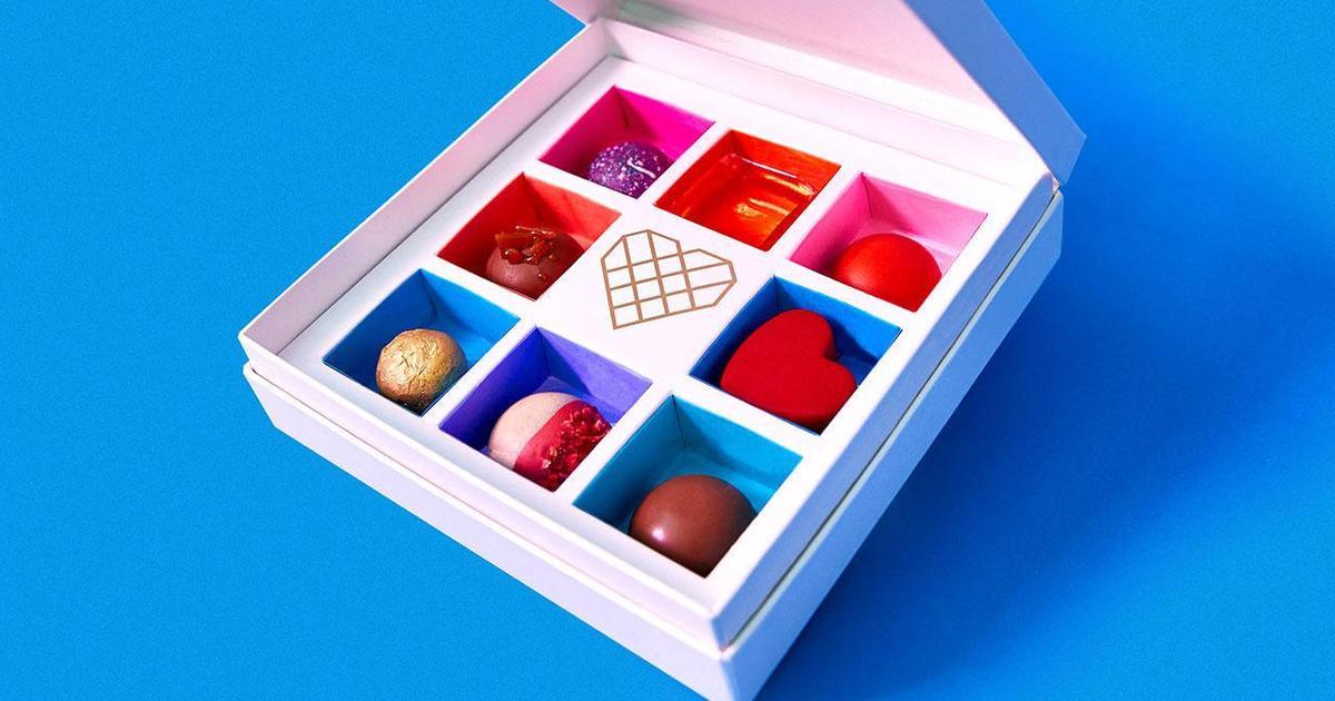 Шоколадные конфеты рассказали о здоровой и нездоровой любви.