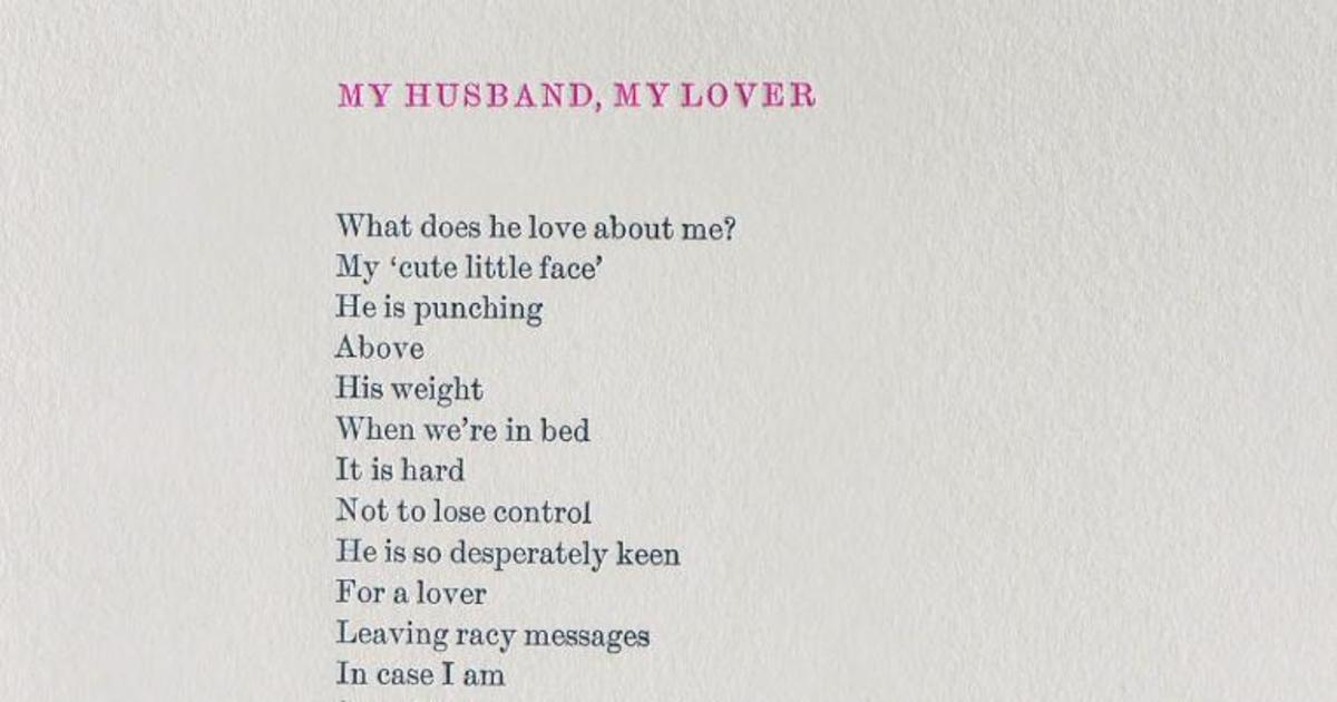 Двусторонний стих ко Дню Валентина рассказал о домашнем насилии.