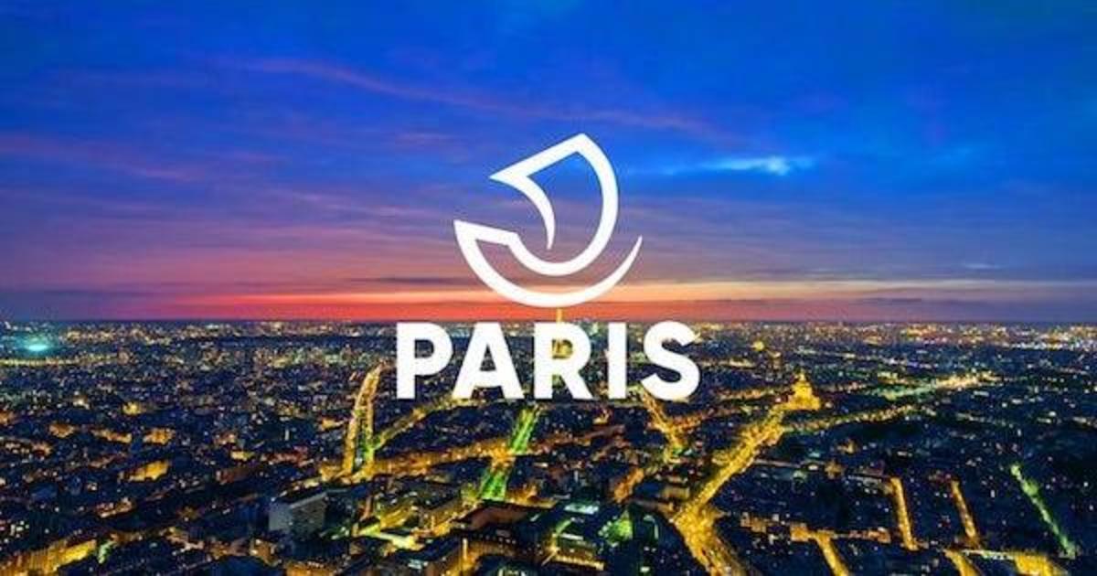 Париж представил новое игривое лого.