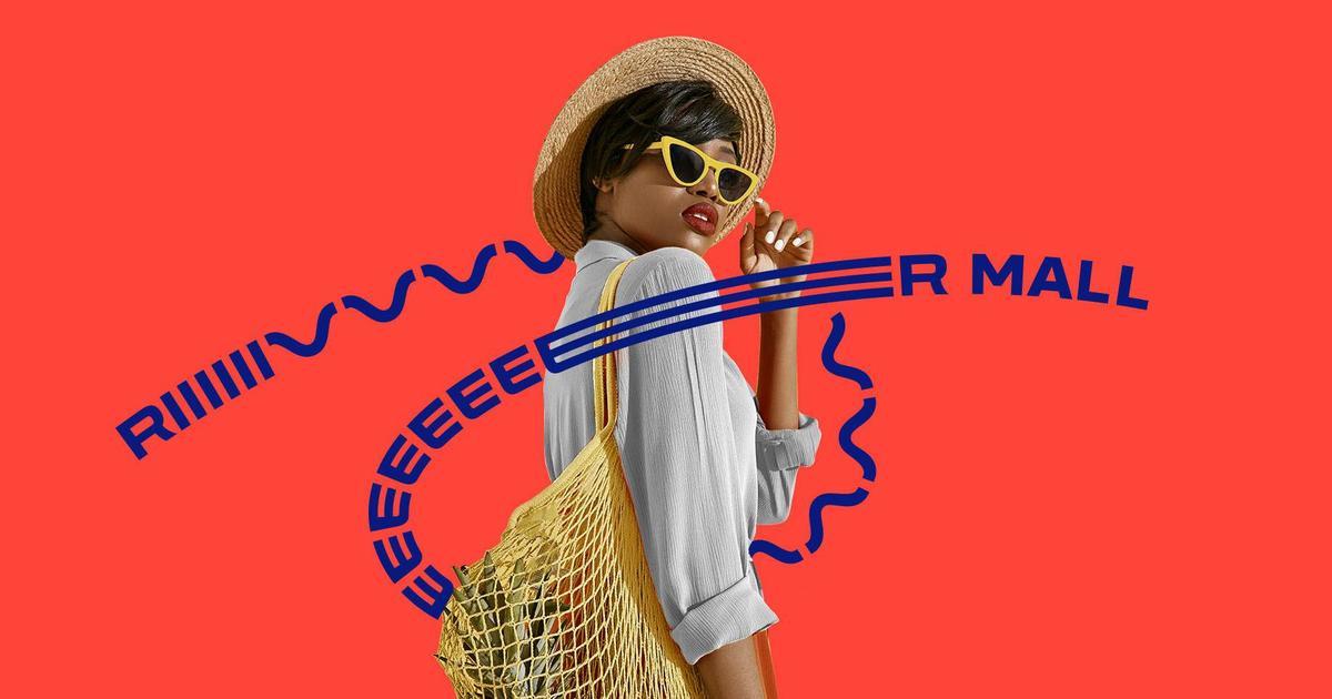Релакс-шопинг: для ТРЦ River Mall создали фирменный стиль.