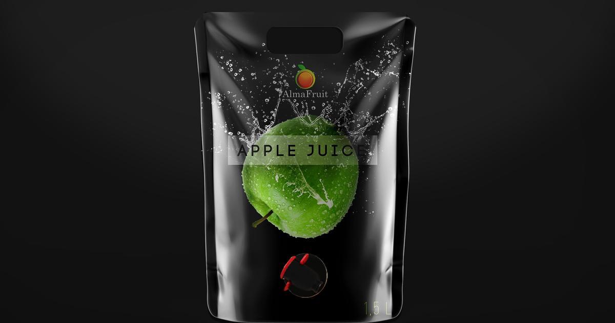 Hi, apple! Сочная упаковка для яблочного сока.