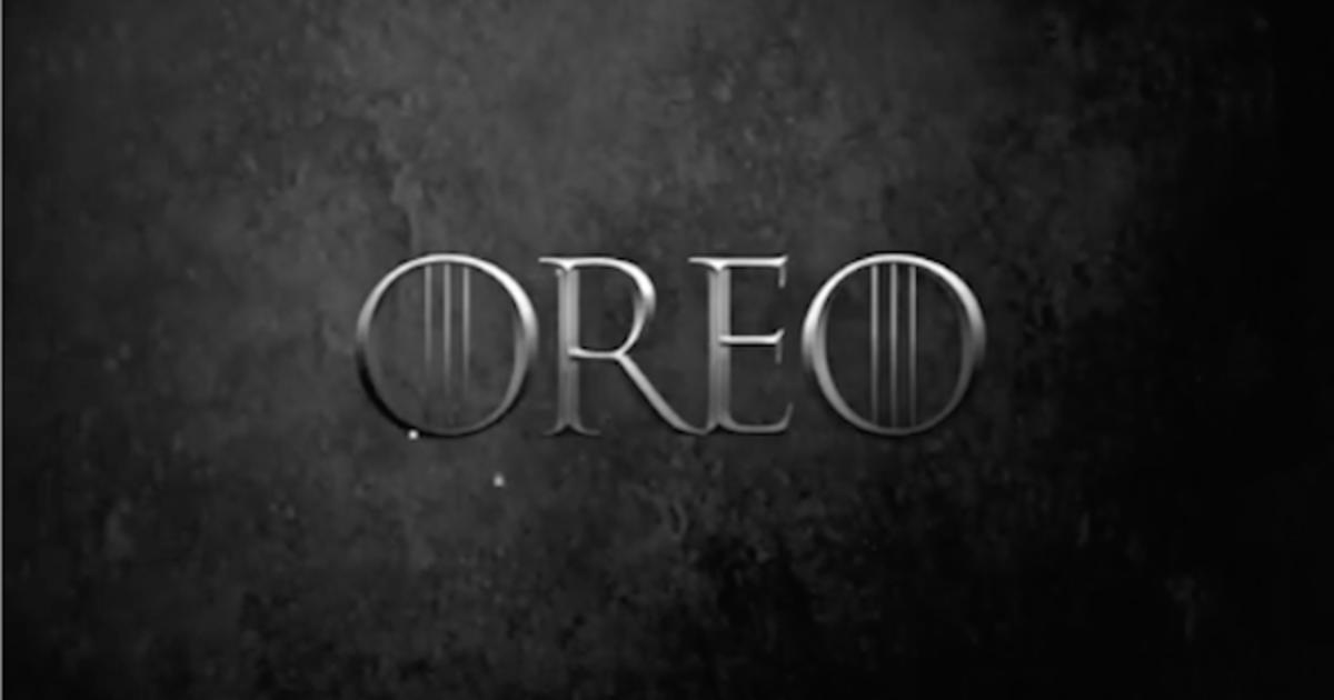 Oreo поможет фанатам «Игры престолов» присягнуть на верность.