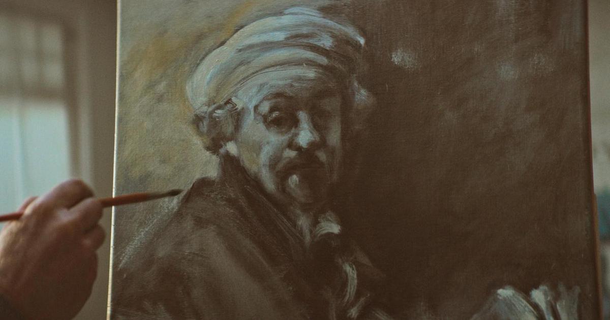 j. Walter Thompson вновь вернули Рембрандта, чтобы он научил рисовать.
