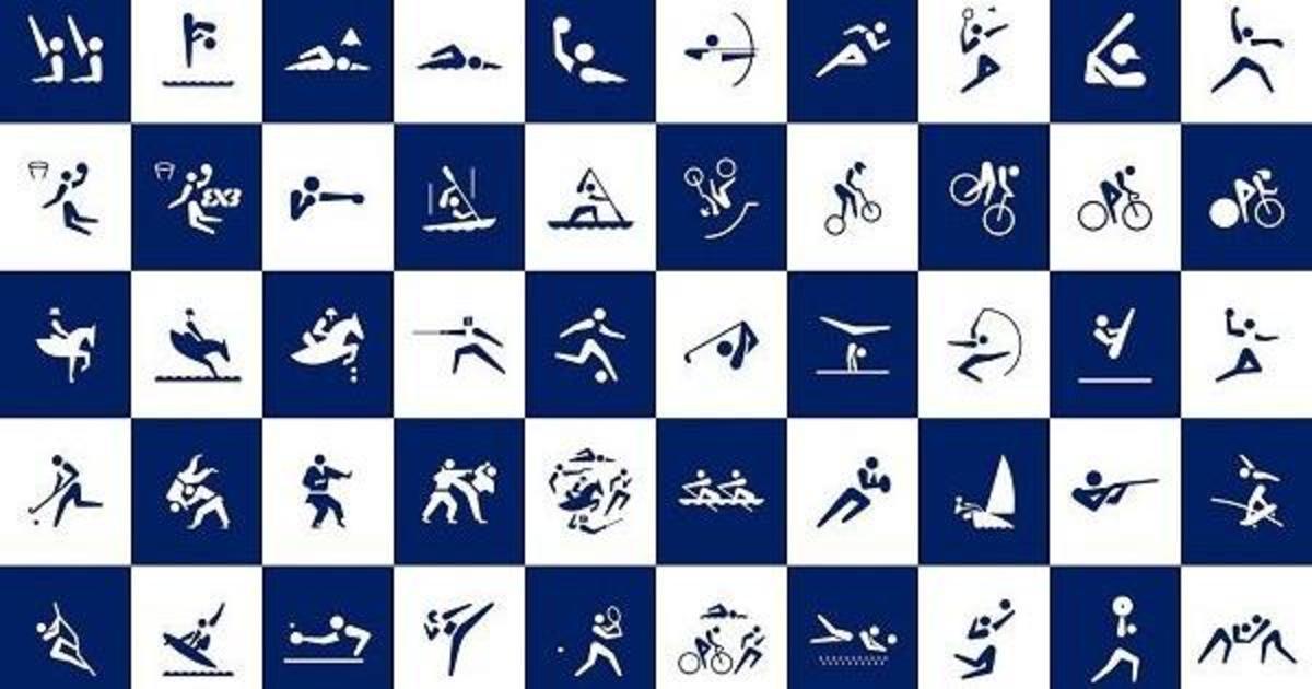 Япония представила обновленный дизайн олимпийских пиктограмм.