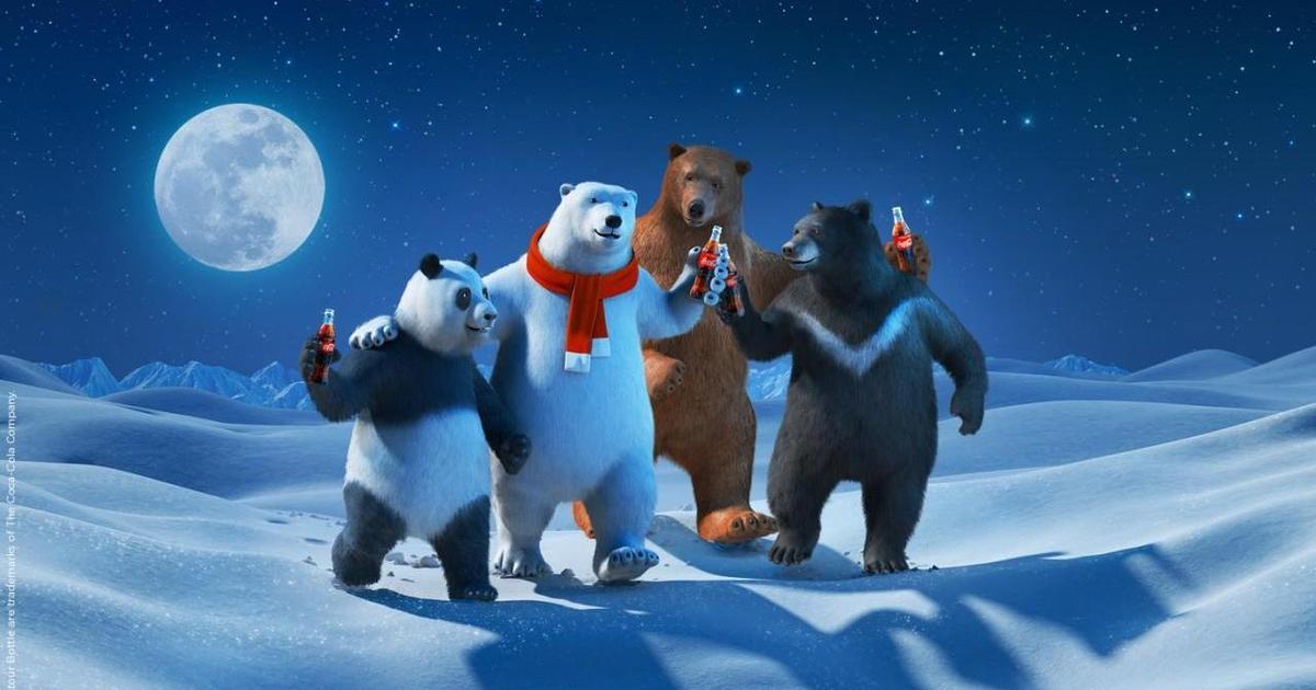 Coca-Cola сделала заявление о разнообразии, использовав медведей.