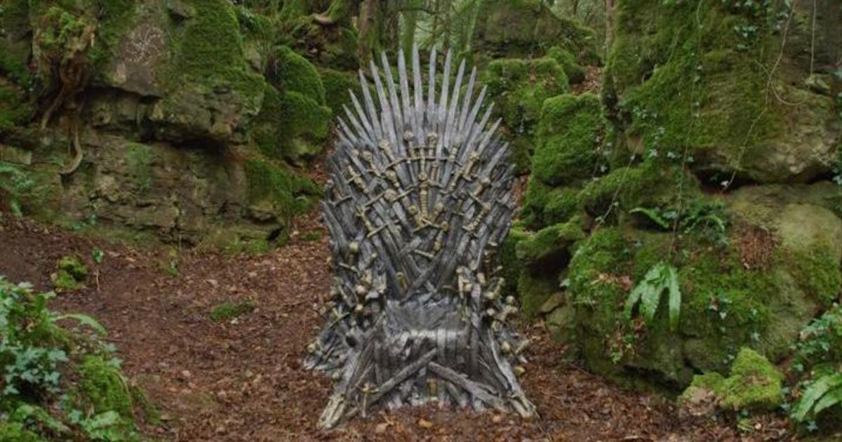 HBO спрятал железные троны в рамках квеста к выходу финального сезона.