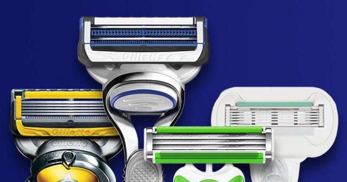Gillette запустил программу в США по переработке бритв и лезвий.