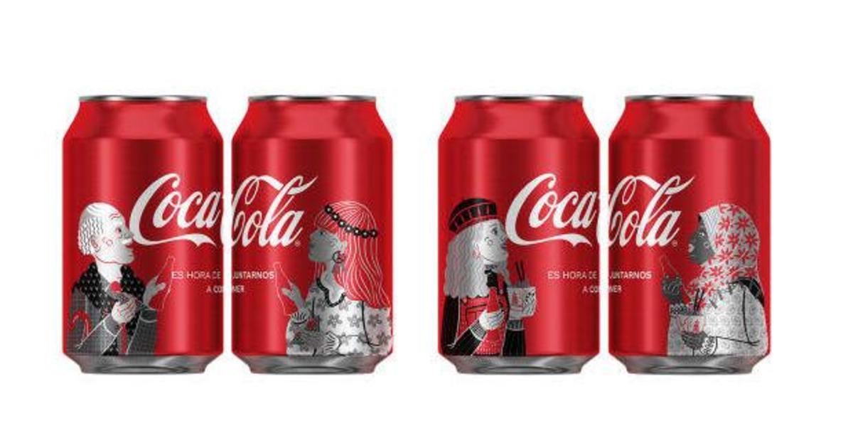 Coca-Cola представила новый дизайн упаковки, призывая к единству.
