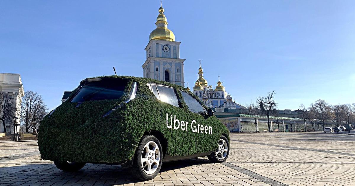 Uber запускает в Киеве полностью электрический сервис — Green.