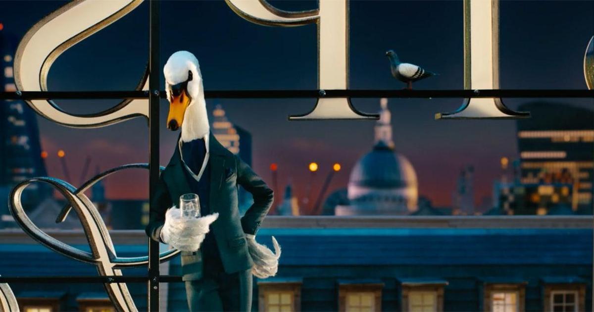 Для бренда джина выпустили анимационный ролик в стиле Уэса Андерсона.