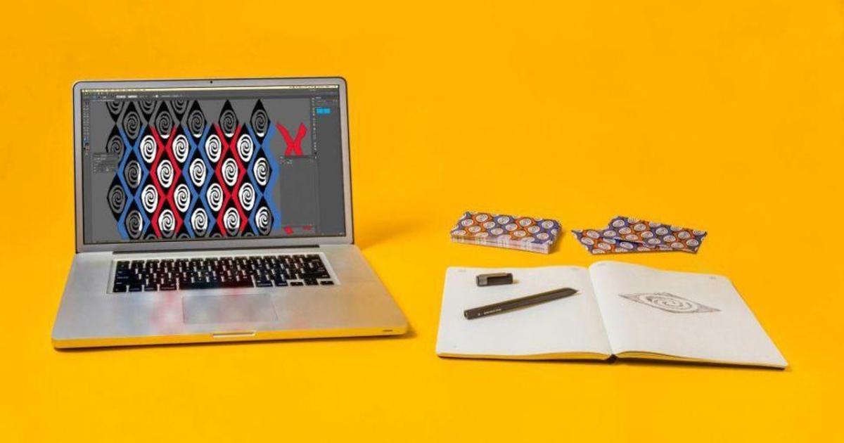 Moleskine интегрировал блокнот с Adobe Illustrator.