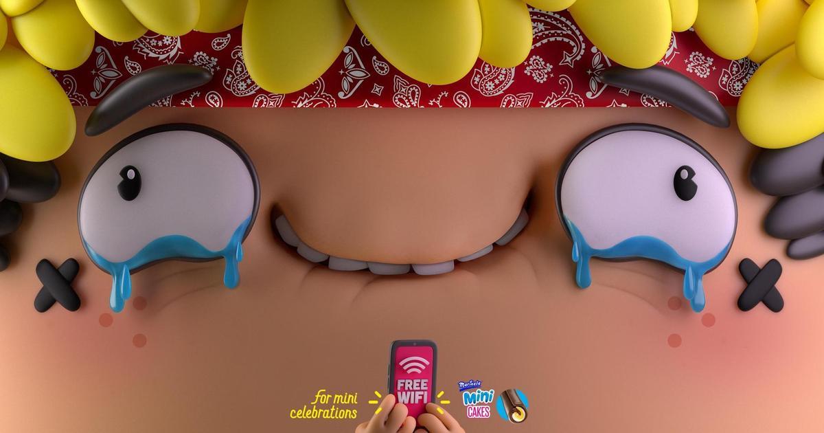 Кондитерский бренд создал мини-тортики для мини-праздников.