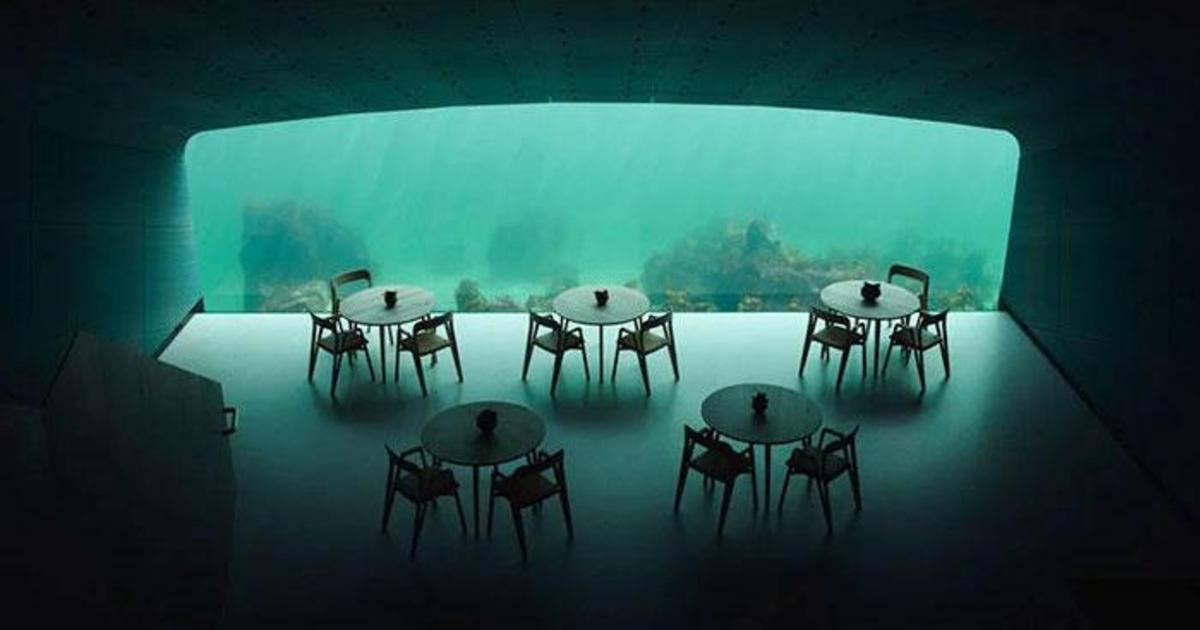 В Норвегии открылся ресторан под водой.