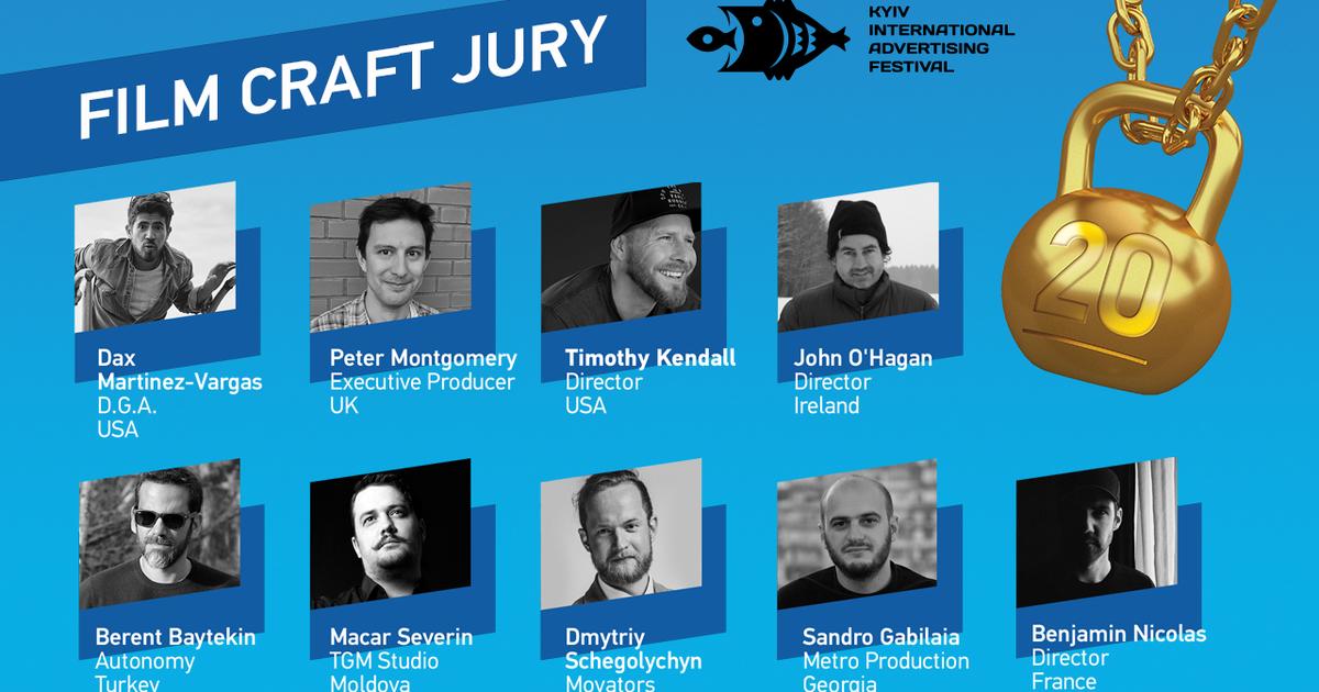 20-ый КМФР представляет команду жюри Film Craft.