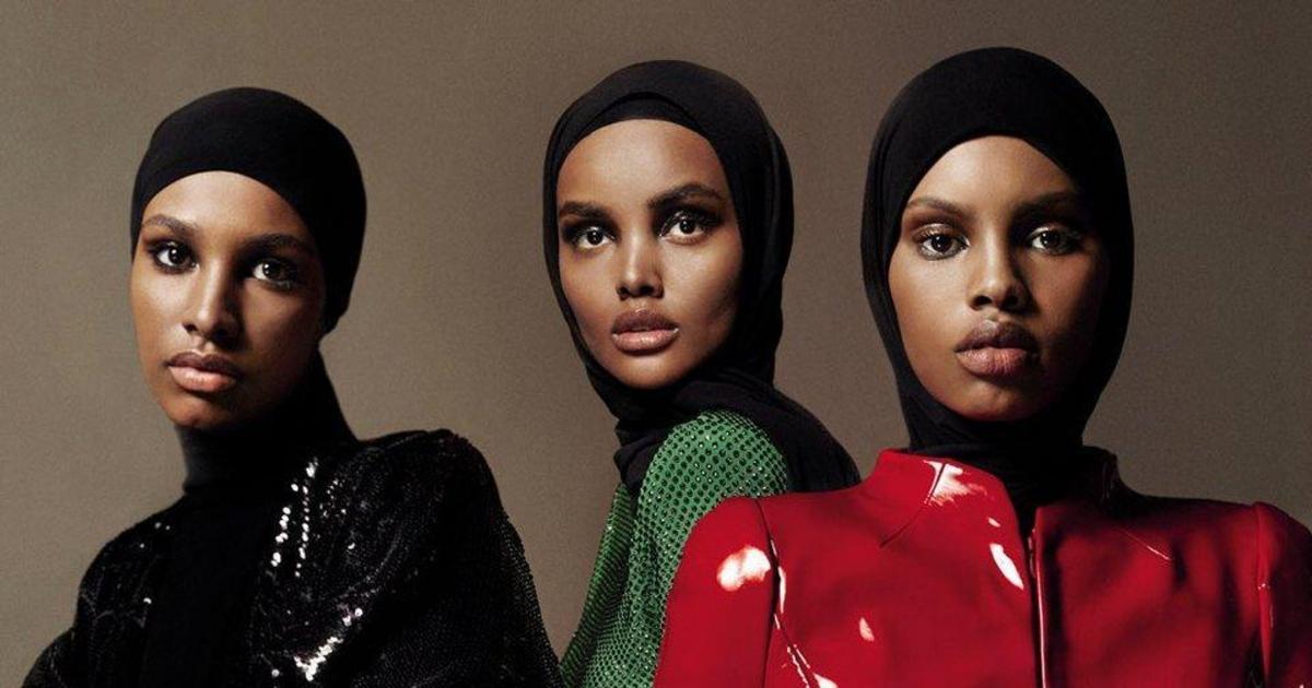 Обложку арабского Vogue впервые украсили три темнокожие модели в хиджабе.