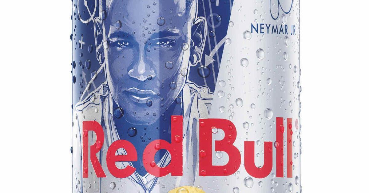 Red Bull выпустил лимитированную серию банок с Неймаром.
