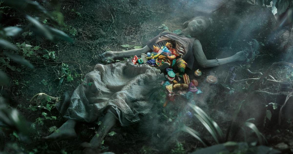 В селф-промо приложения о еде пластик убивает не только животных.