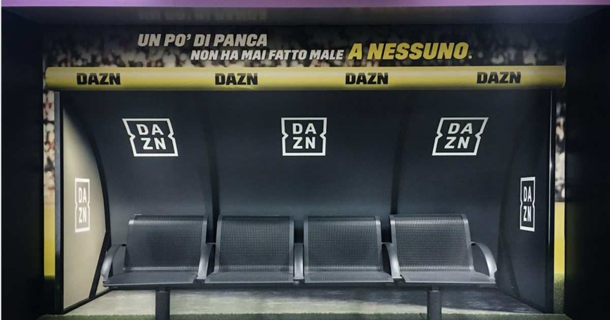 Стриминговый сервис DAZN превратил метро в стадион.