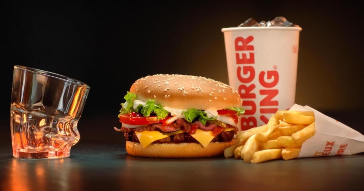 Burger King поджарил на гриле стеклянные стаканы