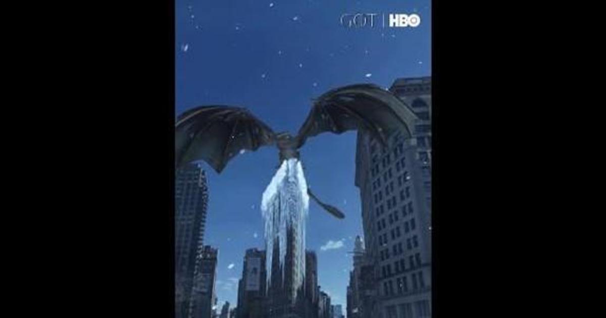 Дракон из «Игры престолов» приземлился в Нью-Йорке благодаря фильтру Snapchat