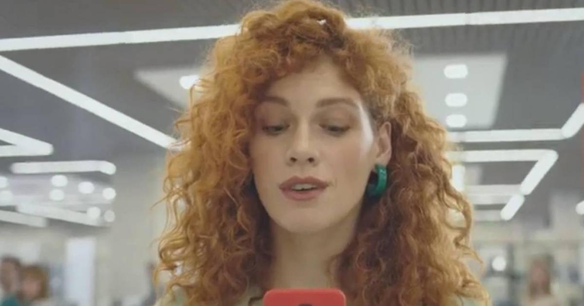 Vodafone призывает попробовать в рекламе 4G