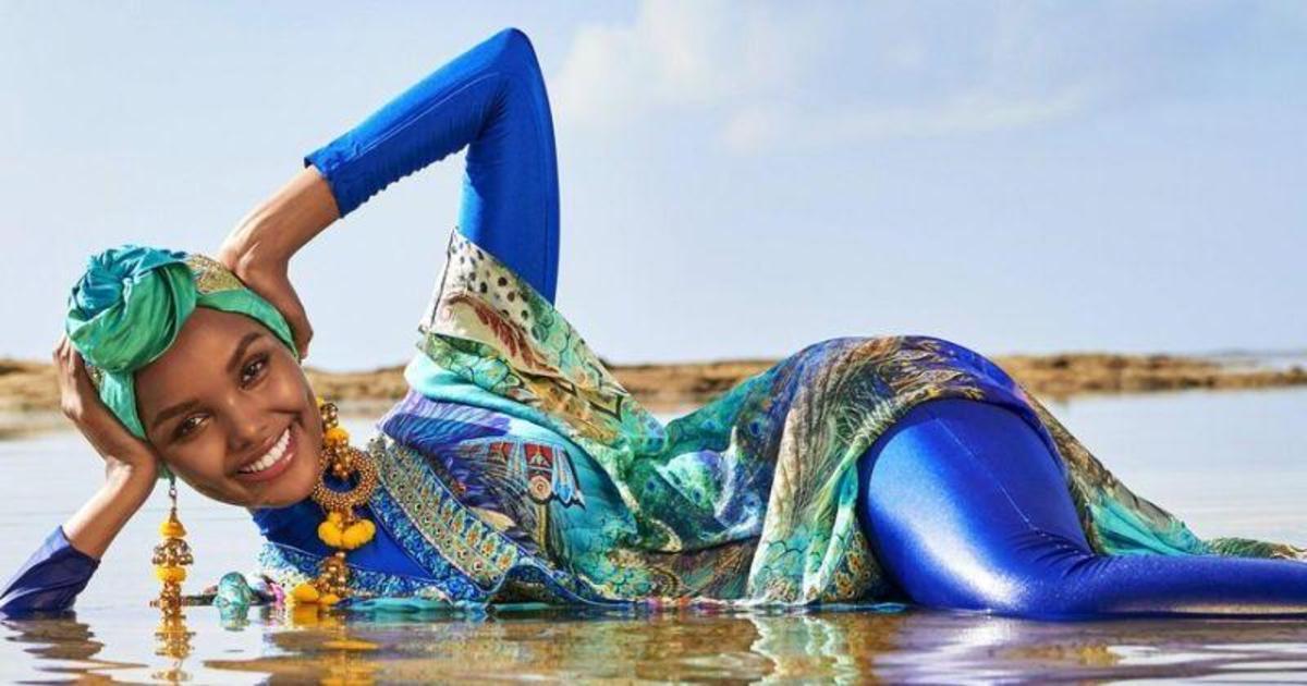 Sports Illustrated показал первую модель в хиджабе и буркини