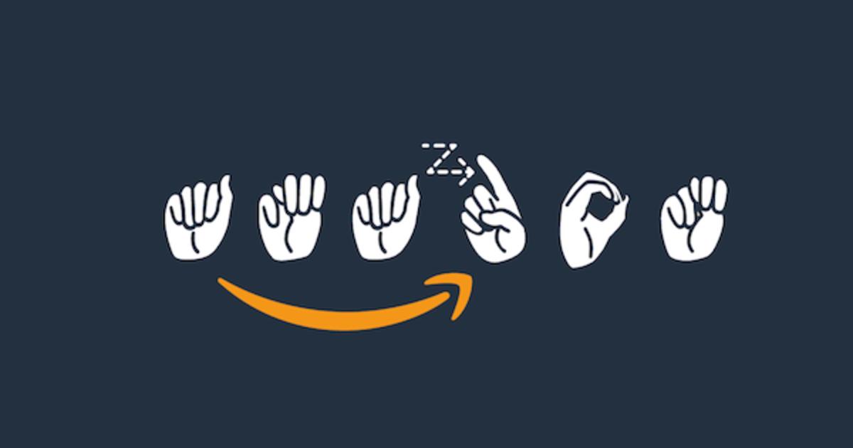 Amazon представил лого на американском языке жестов