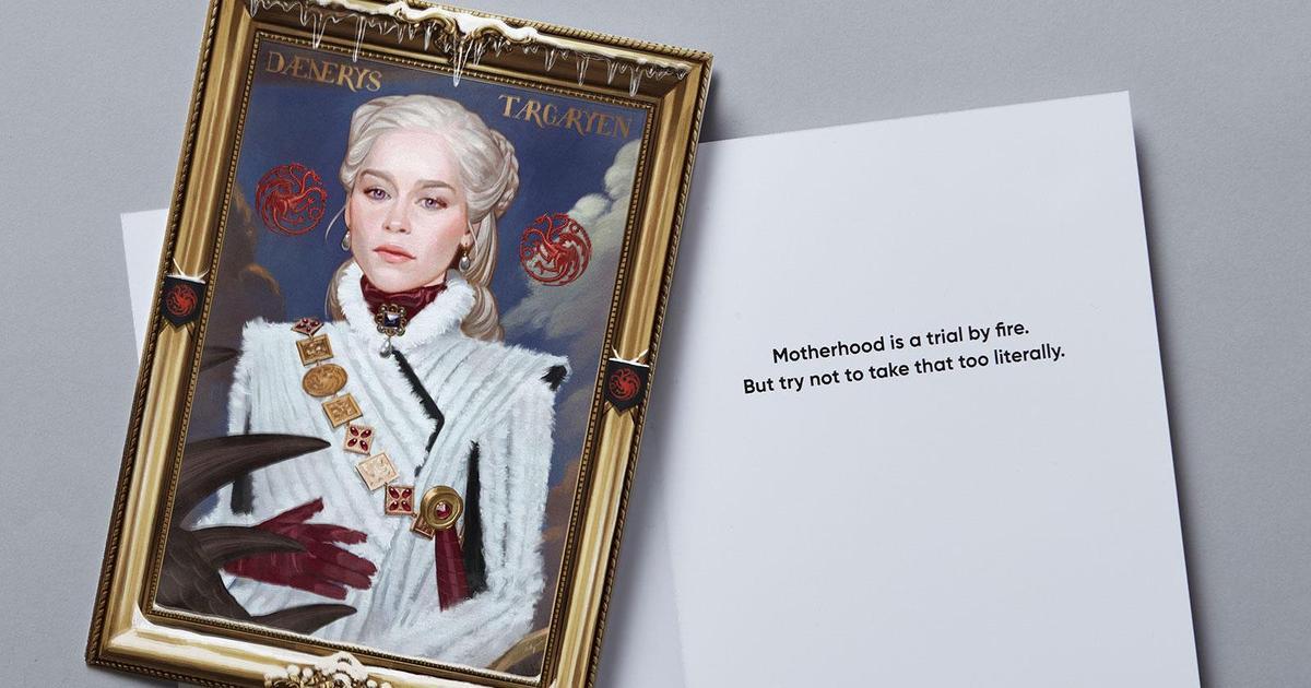Дейенерис и Серсея украсили открытки HBO ко Дню матери