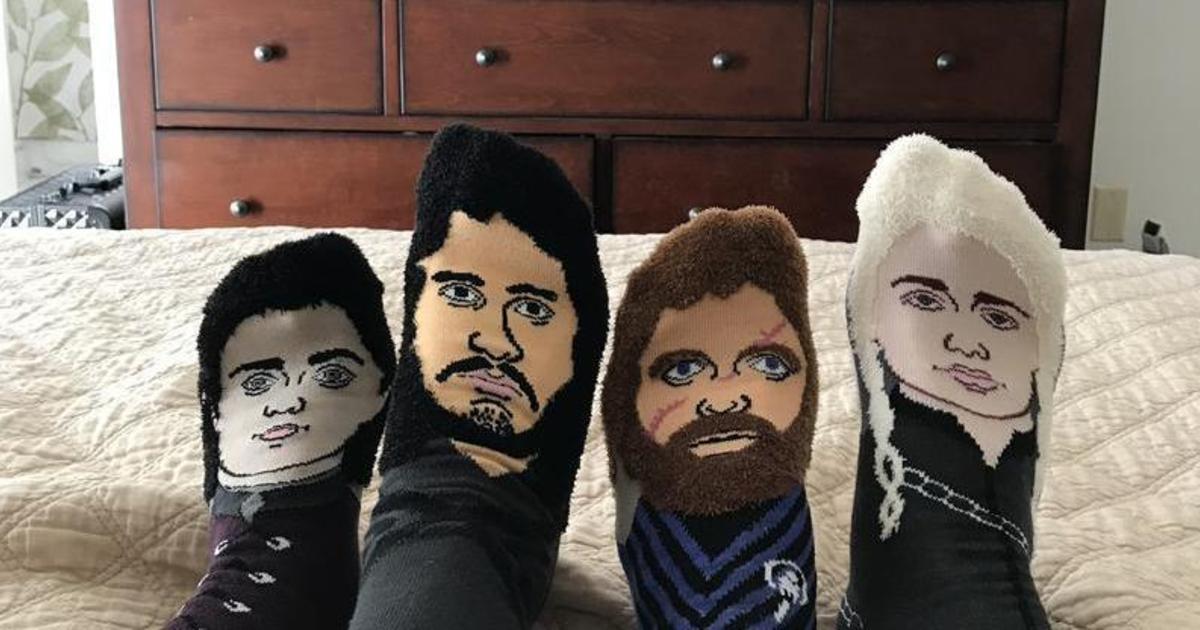 TrollSocks выпустил носки с героями «Игры престолов»