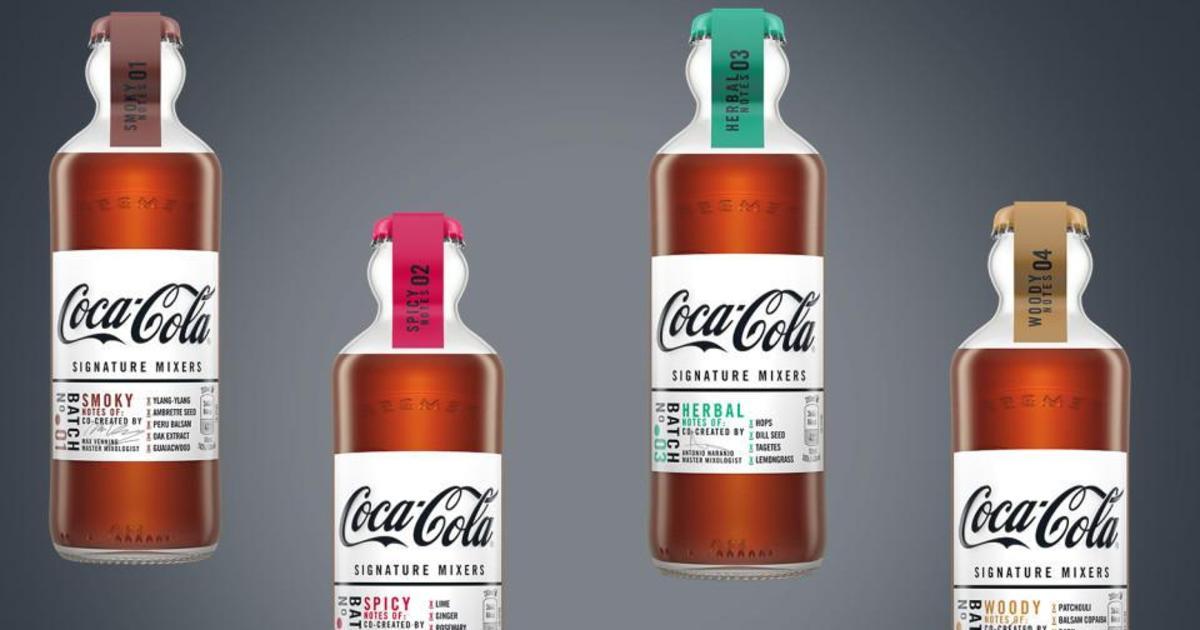 Coca-Cola выпустила особенные вкусы специально для смешивания с алкоголем