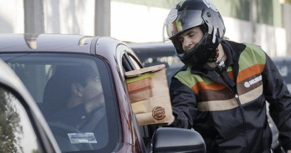 Burger King начал доставлять Вопперы тем, кто застрял в пробке