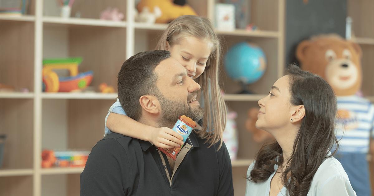 Бренд детских бисквитов вдохновляет украинцев на качественное родительство