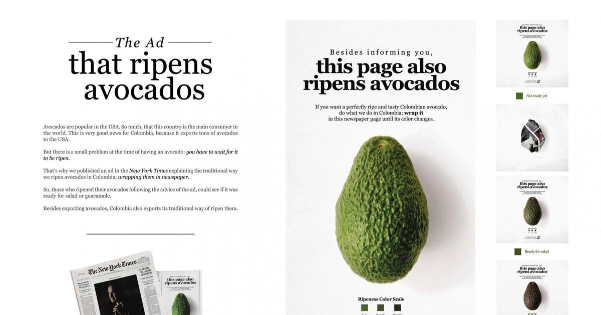 New York Times предлагает обернуть авокадо в их газету