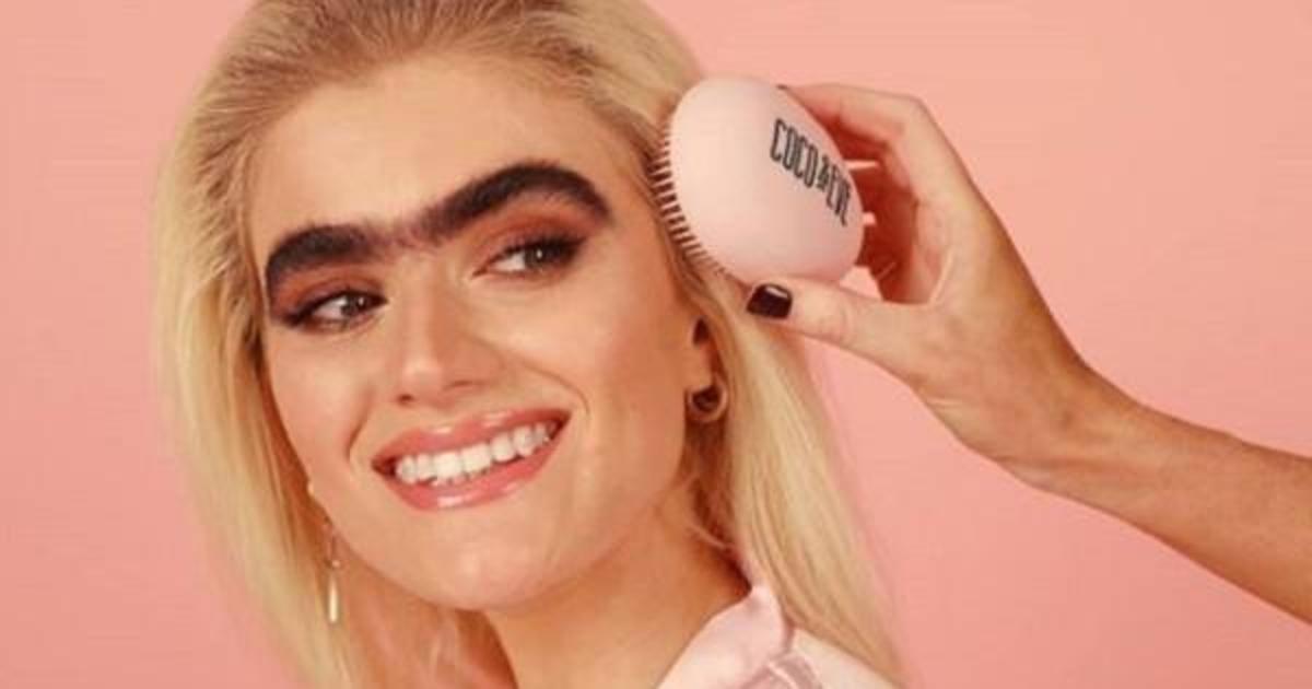 Модель с монобровью снялась в кампании beauty-бренда
