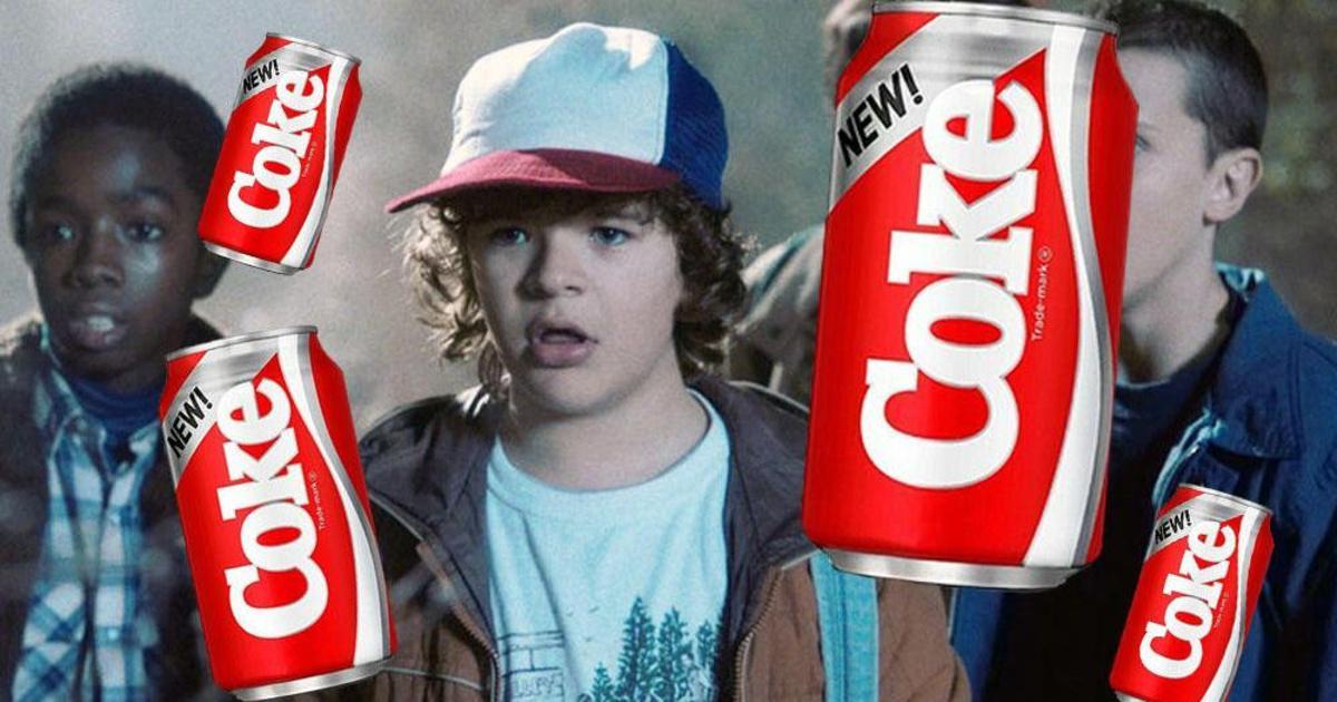 Coca-Cola воскресила провальный продукт для промо сериала Netflix