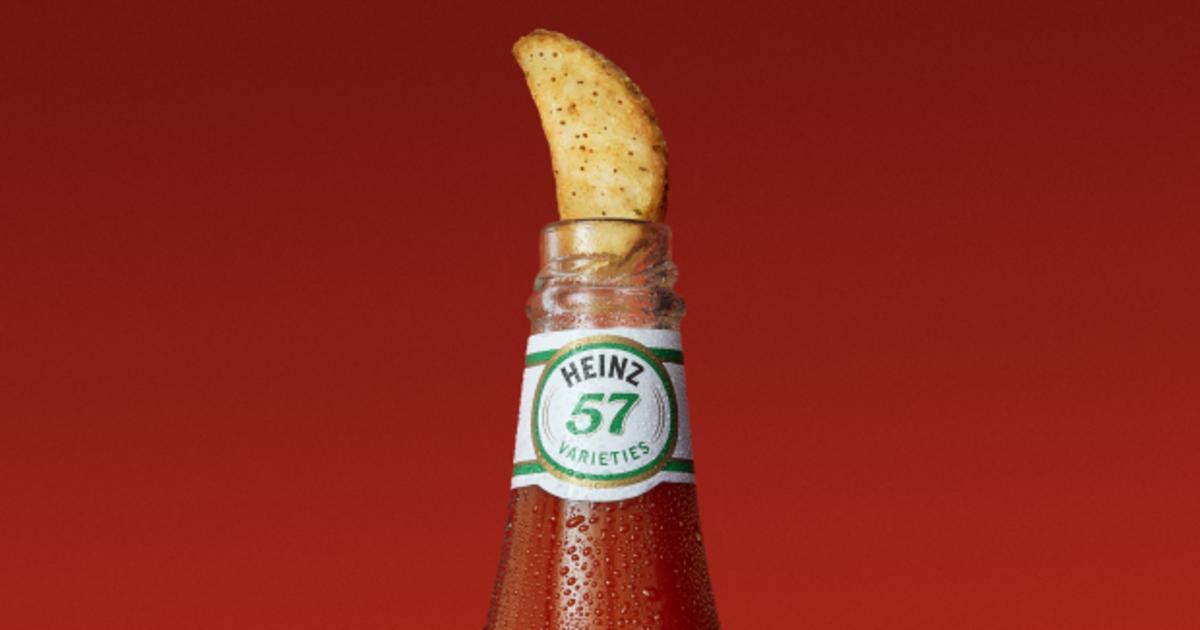 Кетчуп Heinz привлек внимание любителей пива остроумным принтом