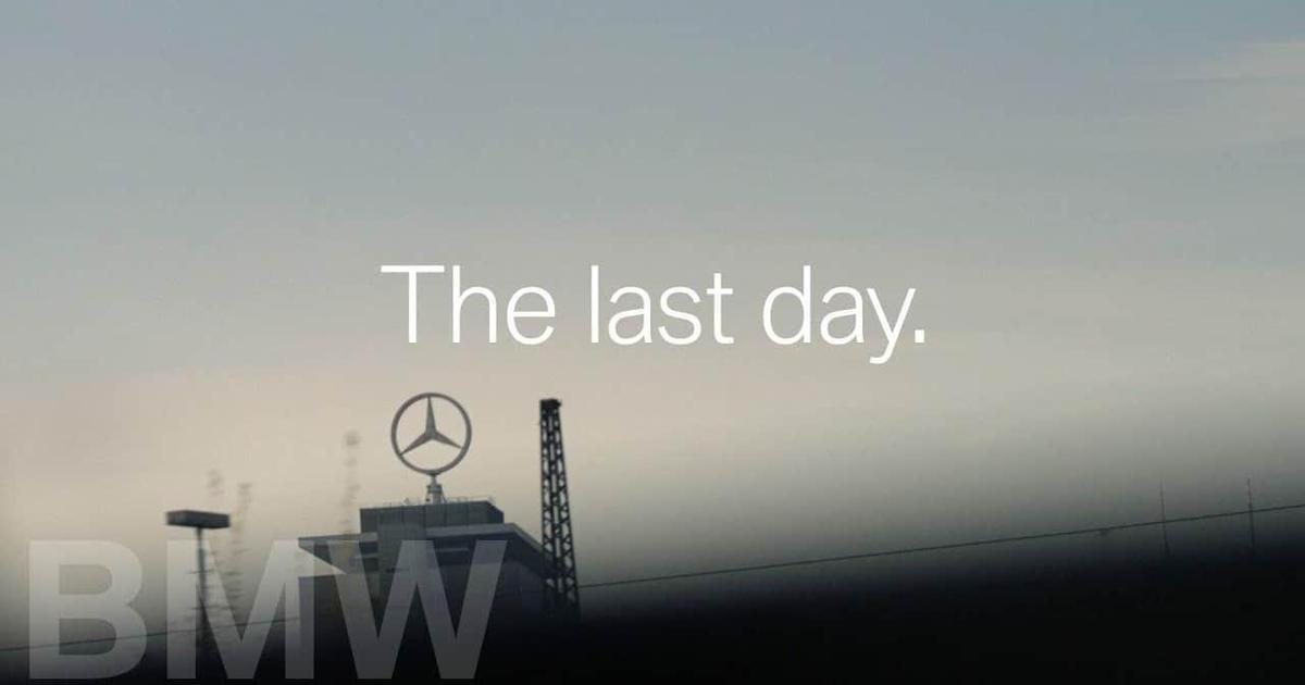 BMW отметил последний день СЕО Mercedes Benz, пересадив его на свое авто