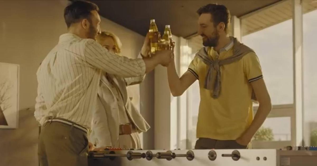Пиво Балтика создало мягкую атмосферу в офисе после работы
