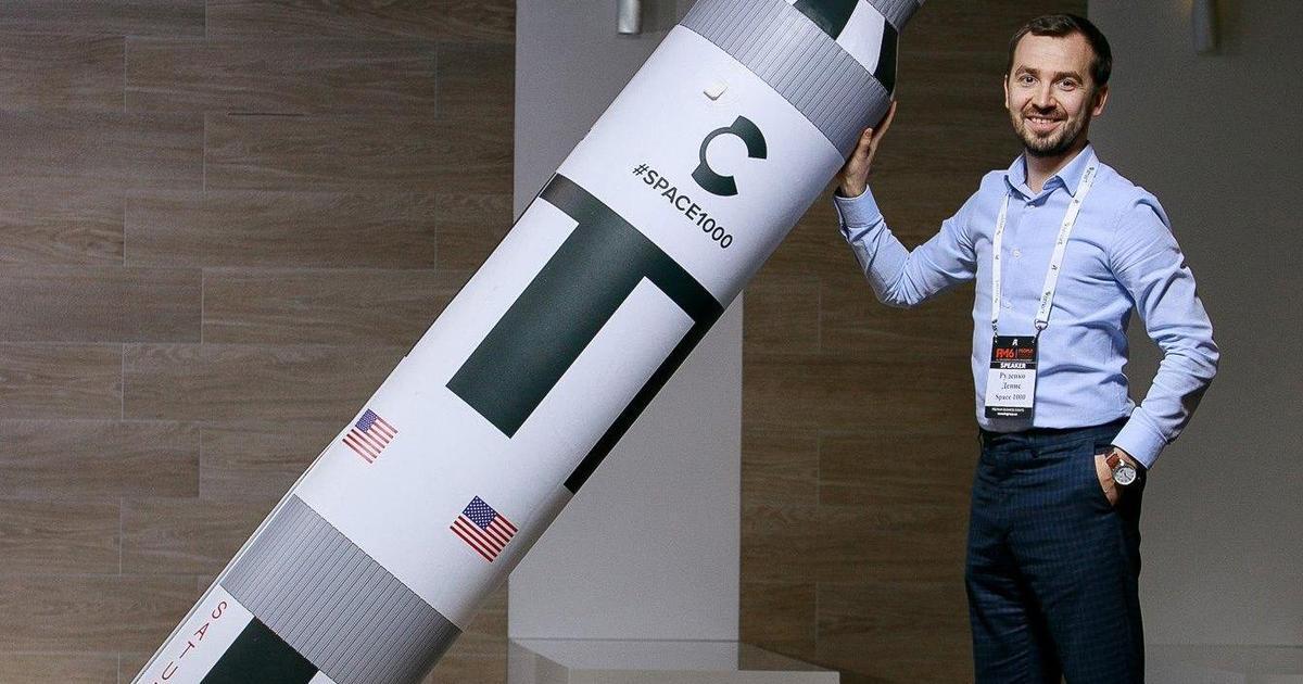 Засновник глобального ком'юніті Space1000 розповість про космічний бізнес