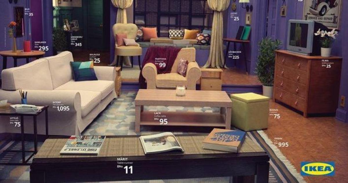 Ikea показала, как обставить гостиную в стиле «Друзей» и «Симпсонов»
