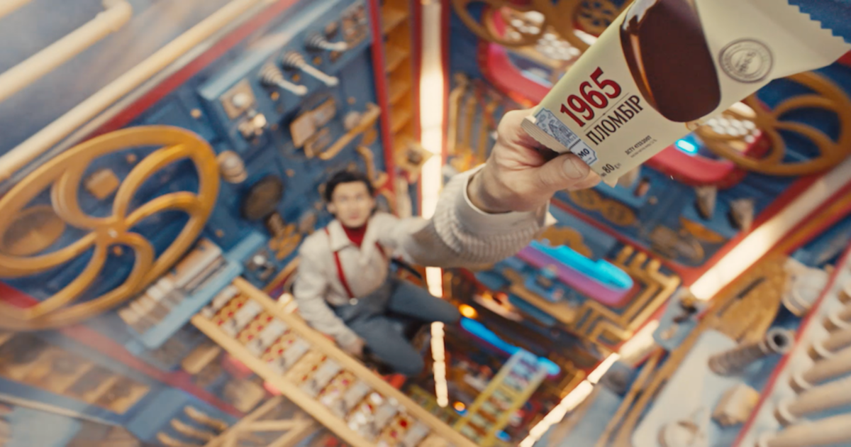 В рекламе Лимо показали фабрику мороженого внутри холодильника