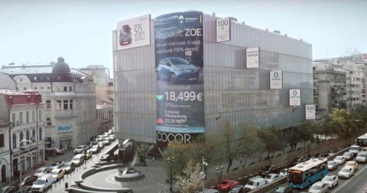 Renault превратил загрязнение воздуха в скидку на покупку электромобиля