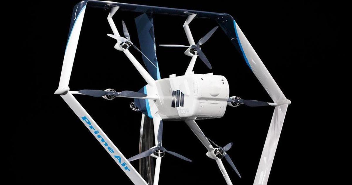 Amazon запустит доставку дронами в ближайшие месяцы
