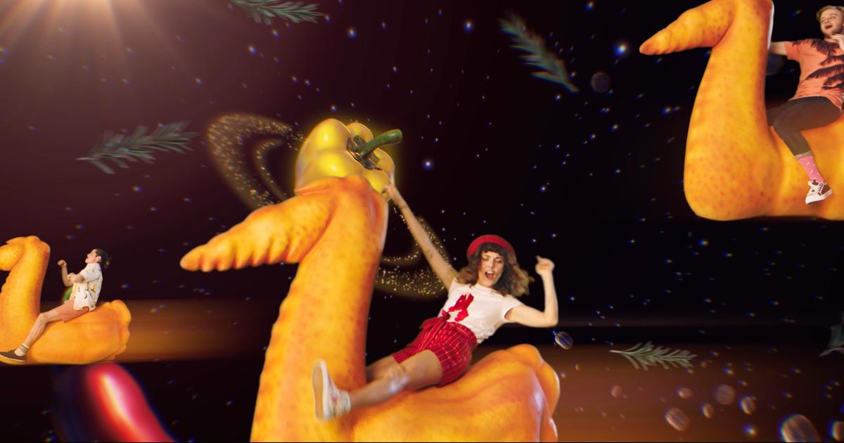 Полет на крыльях в космос специй в новой кампании «Наша Ряба Аппетитная»