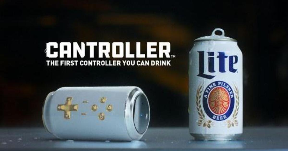 Miller Lite превратил банку пива в игровой контроллер