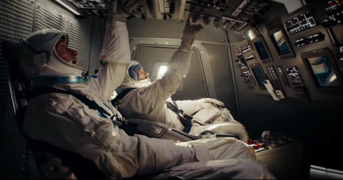 Pepsi отправила Пола Радда и Майкла Пенью в космос