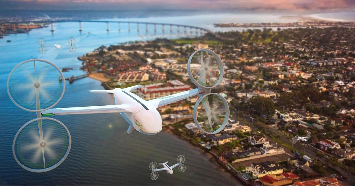 Uber анонсировал первые тестовые доставки еды дронами