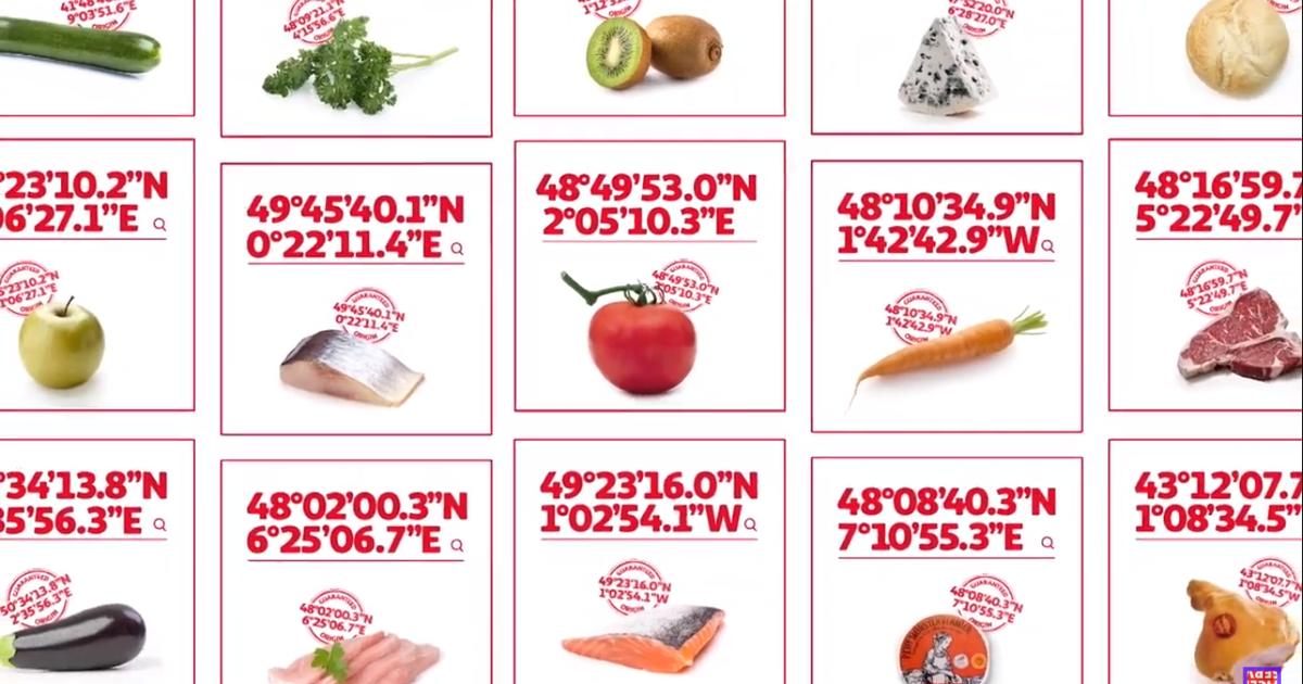 Auchan предложил проверить происхождение продуктов с помощью GPS