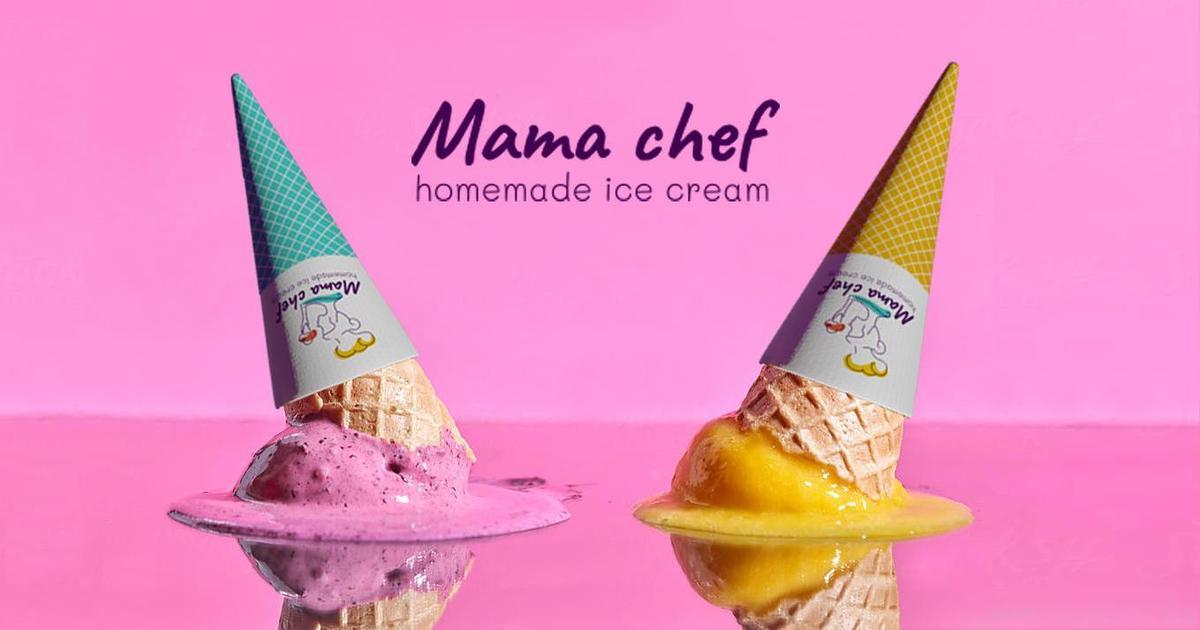 Mama chef: как создавался фирменный стиль для нового бренда мороженого